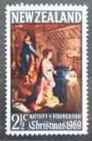 Poštovní známka Nový Zéland 1969 Vánoce, umění, Federico Fiori Mi# 509