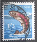 Poštovní známka Nový Zéland 1960 Pstruh duhový Mi# 403