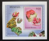Poštovní známka Guinea-Bissau 2010 Minerály DELUXE Mi# 4990 Block