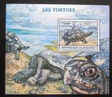 Poštovní známka Burundi 2013 Želvy Mi# Block 380 Kat 9€