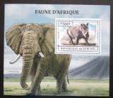 Poštovní známka Burundi 2013 Africká fauna Mi# Block 366 Kat 9€