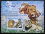 Poštovní známka Svatý Tomáš 2010 Lvi Mi# Block 767 Kat 8€