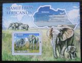 Poštovní známka Svatý Tomáš 2010 Sloni Mi# Block 769 Kat 8€