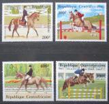 Poštovní známky SAR 1983 LOH Los Angeles, parkur Mi# 956-59 Kat 10€
