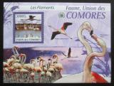 Poštovní známka Komory 2009 Plameňáci Mi# 2427 Kat 15€