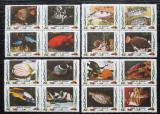 Poštovní známky Umm al-Kuvajn 1972 Ryby Mi# 1306-21