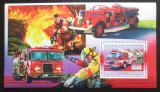 Poštovní známka Guinea 2006 Američtí hasiči DELUXE Mi# Block 1063
