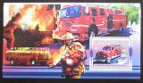 Poštovní známka Guinea 2006 Američtí hasiči DELUXE Mi# Block 1064