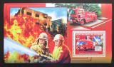 Poštovní známka Guinea 2006 Japonští hasiči DELUXE Mi# Block 1067