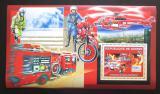 Poštovní známky Guinea 2006 Japonští hasiči DELUXE Mi# Block 1068