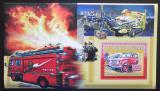 Poštovní známka Guinea 2006 Japonští hasiči DELUXE Mi# Block 1069