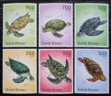 Poštovní známky Guinea-Bissau 2010 Želvy Mi# 5025-30 Kat 13€