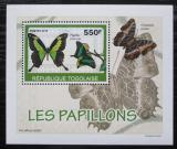 Poštovní známka Togo 2010 Motýli DELUXE Mi# 3404 Block