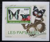 Poštovní známka Togo 2010 Motýli DELUXE Mi# 3406 Block