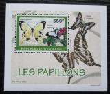 Poštovní známka Togo 2010 Motýli DELUXE Mi# 3407 Block