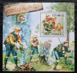 Poštovní známka Mosambik 2011 Skauti Mi# Block 550 Kat 10€