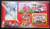 Poštovní známka Guinea 2006 Němečtí hasiči DELUXE Mi# Block 1071