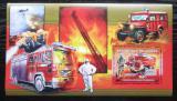 Poštovní známka Guinea 2006 Francouzští hasiči DELUXE Mi# Block 1072