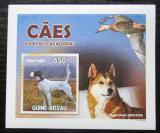Poštovní známka Guinea-Bissau 2010 Psi DELUXE neperf. Mi# 4726 B Block