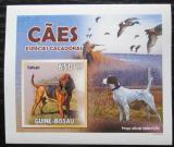 Poštovní známka Guinea-Bissau 2010 Psi DELUXE neperf. Mi# 4727 B Block