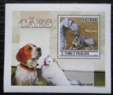 Poštovní známka Svatý Tomáš 2010 Psi DELUXE Mi# 4644 Block
