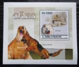 Poštovní známka Svatý Tomáš 2010 Psi DELUXE Mi# 4645 Block