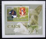 Poštovní známka Guinea-Bissau 2007 Psi DELUXE Mi# 3591 Block
