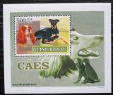 Poštovní známka Guinea-Bissau 2007 Psi DELUXE Mi# 3592 Block