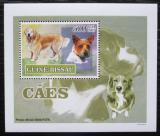 Poštovní známka Guinea-Bissau 2007 Psi DELUXE Mi# 3593 Block