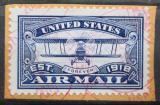 Poštovní známka USA 2018 Poštovní letadlo, samolepící na papíře Mi# 5482