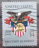 Poštovní známka USA 2002 Znak Vojenské akademie Mi# 3519