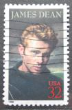 Poštovní známka USA 1996 James Dean, herec Mi# 2745