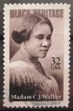 Poštovní známka USA 1998 Madam C. J. Walker Mi# 2906