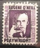 Poštovní známka USA 1967 Eugene (Gladstone) O'Neill, dramatik Mi# 934
