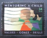 Poštovní známka USA 2002 Výchova dětí Mi# 3515