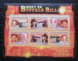 Poštovní známky Guinea 2007 Buffalo Bill Mi# 5154-59 Kat 8€