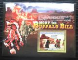 Poštovní známka Guinea 2007 Buffalo Bill Mi# Block 1432 Kat 7€
