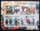 Poštovní známky Guinea-Bissau 2011 Teroristický útok 11. září Mi# 5493-96 Kat 9€