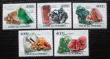 Poštovní známky Komory 2011 Minerály Mi# 2929-33 Kat 10€