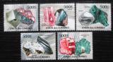 Poštovní známky Komory 2011 Minerály Mi# 2944-48 Kat 13€
