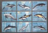 Poštovní známky Gambie 1995 Delfíni Mi# 2243-51 Kat 10€