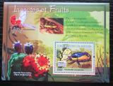 Poštovní známka Guinea 2007 Hmyz a ovoce Mi# Block 1216 Kat 7€