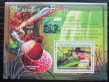 Poštovní známka Guinea 2007 Hmyz a ovoce Mi# Block 1217 Kat 7€