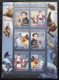 Poštovní známky Guinea 2008 Netopýři a film Dracula Mi# 5565-70 Kat 12€