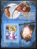 Poštovní známka Guinea 2008 Netopýři a film Dracula Mi# Block 1528 Kat 10€