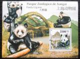 Poštovní známka Guinea-Bissau 2011 Panda velká Mi# Block 900 Kat 10€