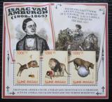 Poštovní známky Guinea-Bissau 2011 Šelmy v cirkusu Mi# 5669-71 Kat 12€