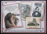 Poštovní známka Guinea-Bissau 2011 Šelmy v cirkusu Mi# Block 974 Kat 10€