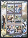 Poštovní známky Guinea 2008 Kočkovité šelmy Mi# 5589-94 Kat 12€