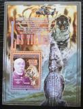 Poštovní známka Guinea 2008 Tygr Mi# Block 1534 Kat 10€